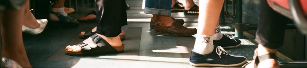 Passengers feet