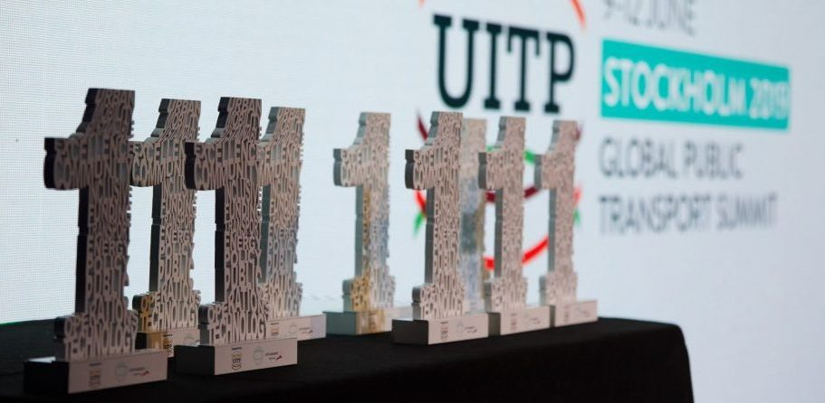 The UITP awards are the coveted prize in the public transport sector